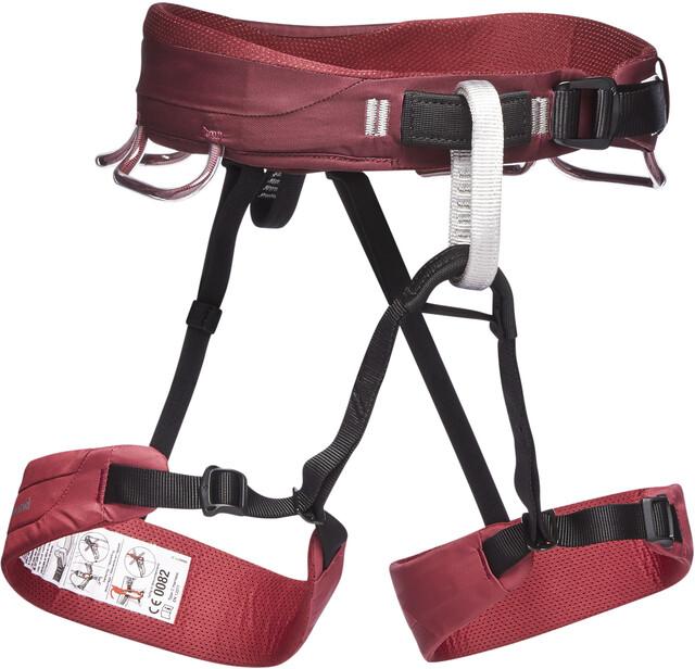Klettergurt Black Diamond Solution : Black diamond momentum harness women wild rose campz
